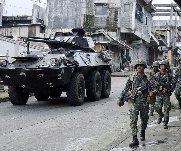 Philippines military: 16 bodies found were civilians fleeing militants