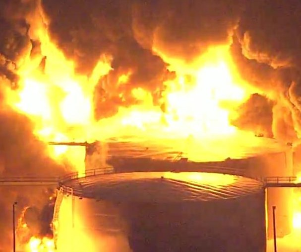 Watch live: Houston-area chemical fire burns for third straight day