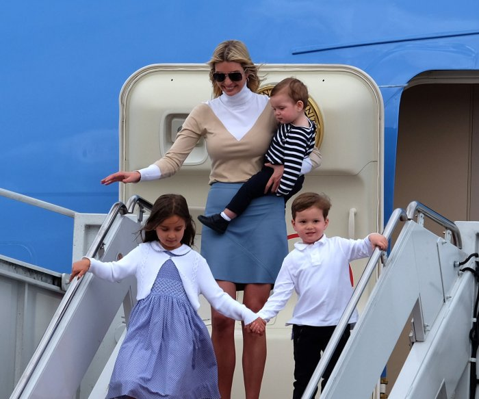 'First family': Moments with President Donald Trump's clan