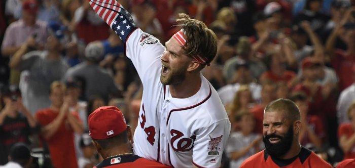 Washington Nationals' Bryce Harper wins Home Run Derby