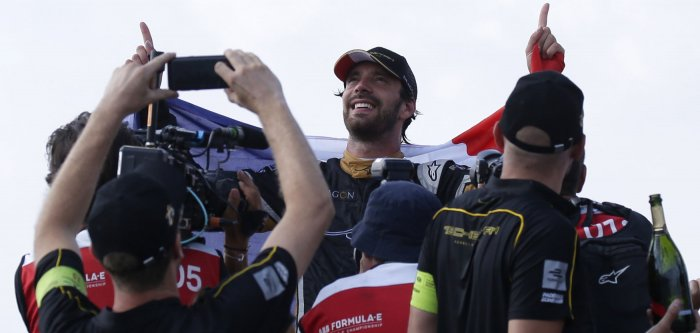 Jean-Eric Vergne wins Formula E New York ePrix