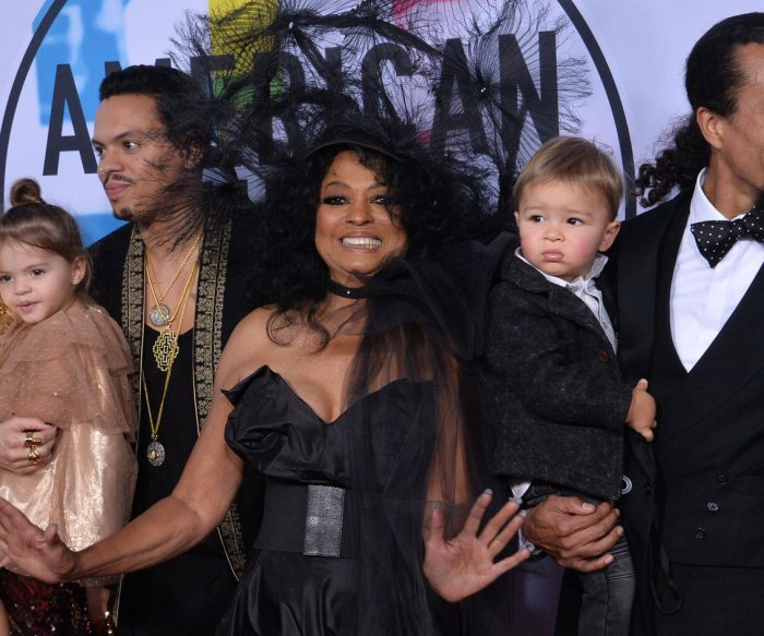 Diana Ross honored; Bruno Mars, Keith Urban win at AMAs