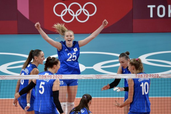 Tokyo Olympics: Moments from women's volleyball