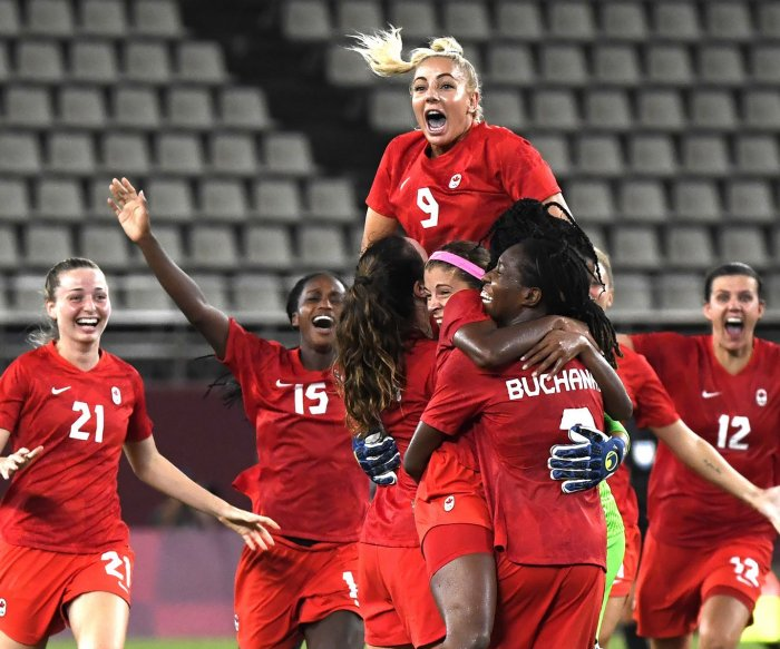 Time changed for Sweden-Canada women's soccer gold medal game due to Tokyo heat