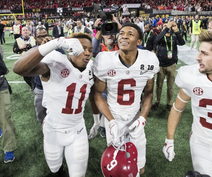 NFL Combine odds: Bama's Ruggs favored to win 40-yard dash