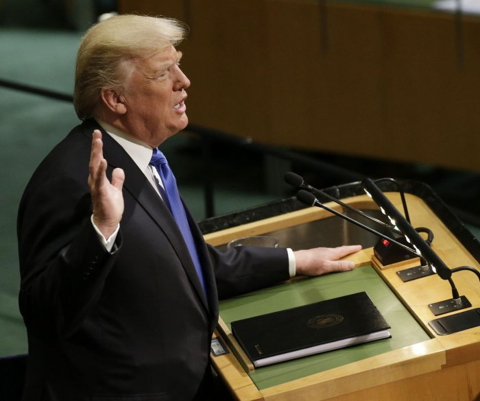 Full text of Trump's speech to United Nations General Assembly