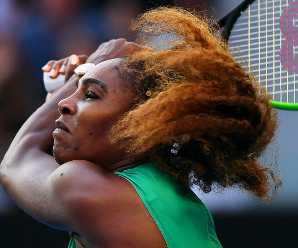 Australian Open: Serena Williams beats No. 1 Simona Halep