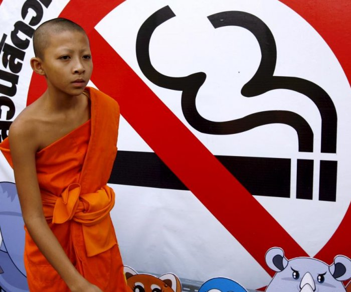 Smoking at home a form of domestic violence, Thailand says