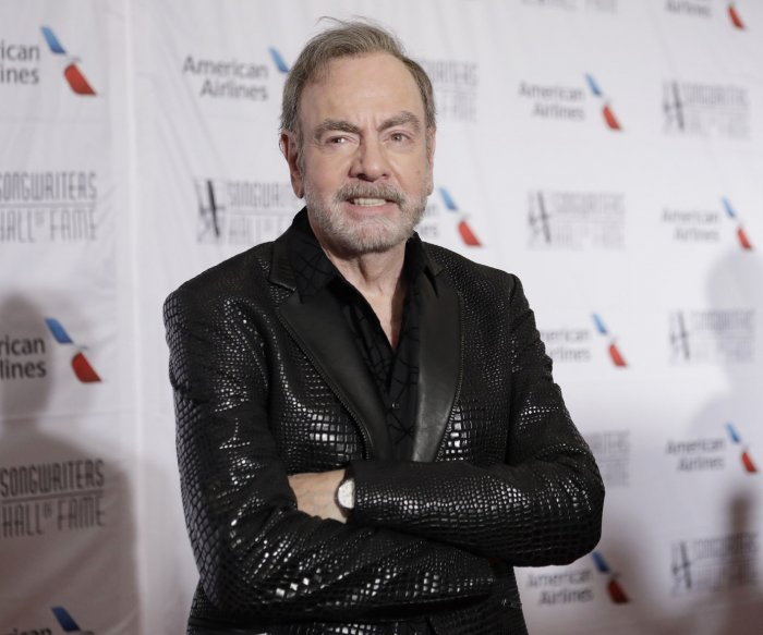Neil Diamond, Usher attend Songwriters Hall of Fame Induction and Awards ceremony
