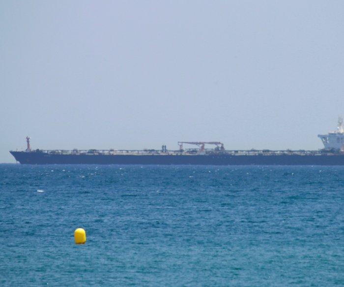 Iranian tanker sets sail after Gibraltar rejects U.S. detainment order