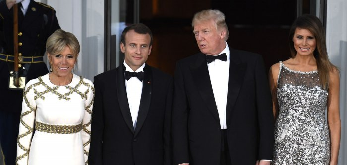 French President Emmanuel Macron's state visit to Washington