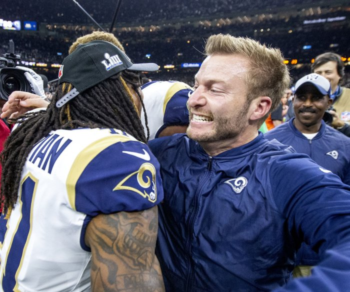 Los Angeles Rams silence Saints, advance to Super Bowl LIII