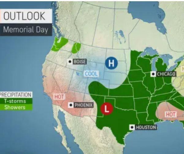 Over 40 million at risk for severe storms through holiday weekend