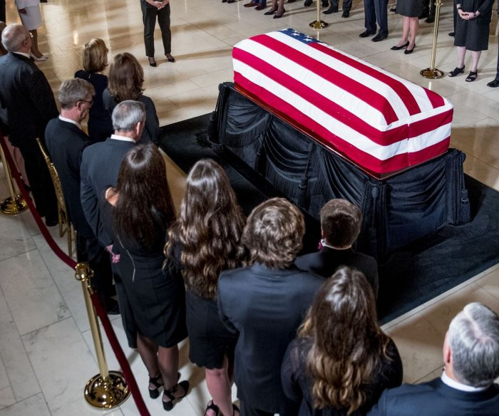 Watch live: John Paul Stevens lies in repose at Supreme Court