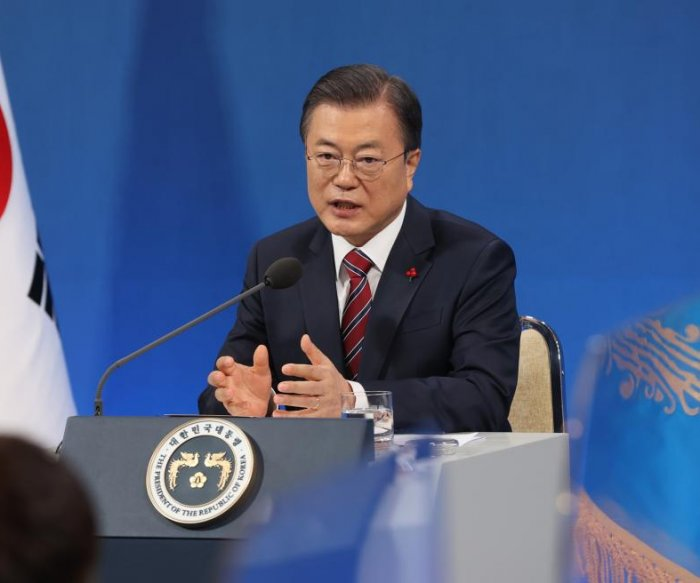 Moon Jae-in: Biden should build on Trump's North Korea summits