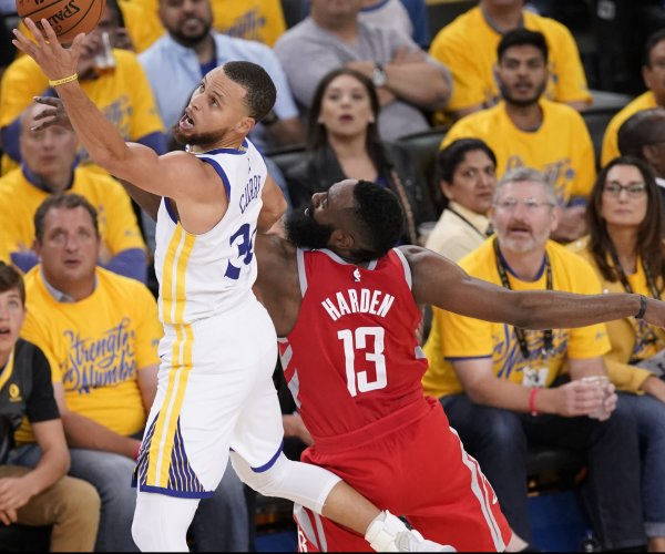 Warriors look to Game 4 after blowout win over Rockets