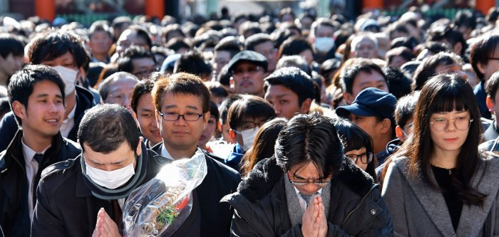 Tokyo begins new business year with prayer
