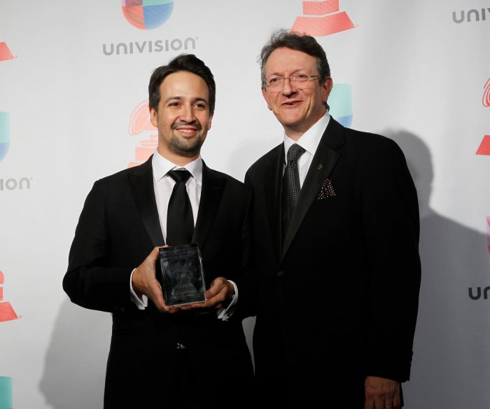 Lin-Manuel Miranda, Luis Fonsi win at the Latin Grammys