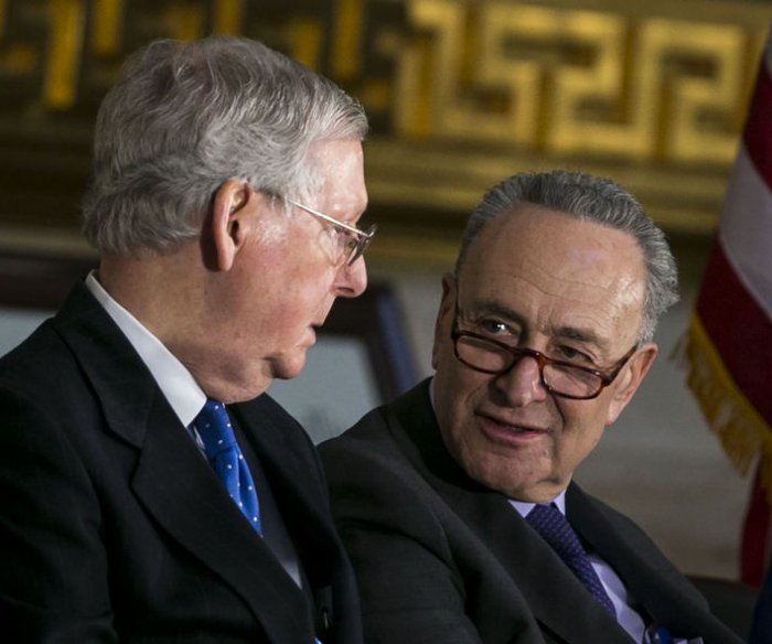 House OKs short-term spending bill, Senate Dems vow to block it