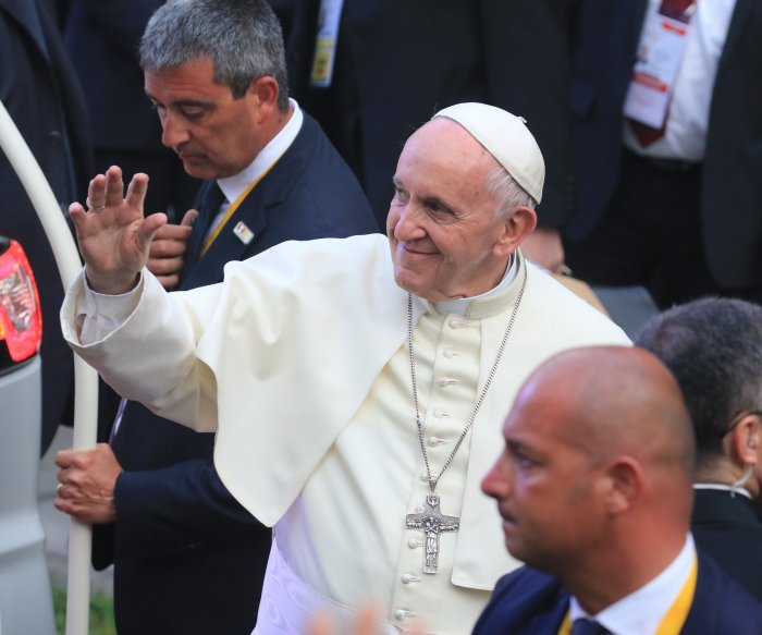 Pope accuses sex abuse victims of slander during South America trip
