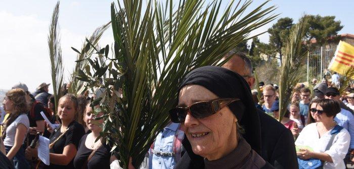 Jerusalem celebrates Palm Sunday