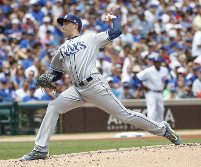 Rays halt Cubs' seven-game win streak
