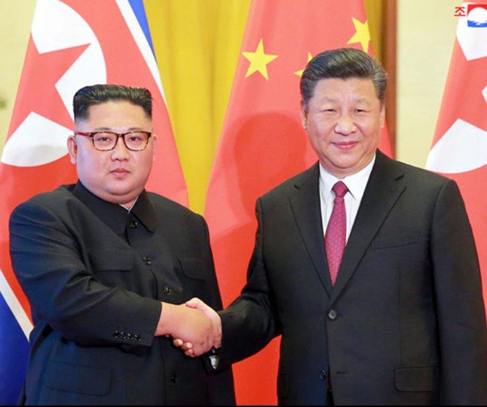 China's Xi Jinping arrives in Pyongyang for summit with Kim Jong Un