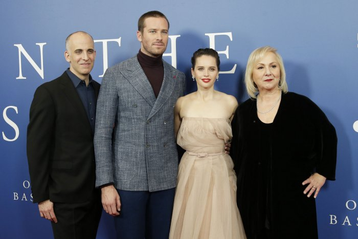 Felicity Jones, Armie Hammer attend 'On the Basis of Sex' screening