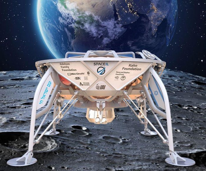 SpaceIL teams with SpaceX for first first private moon lander