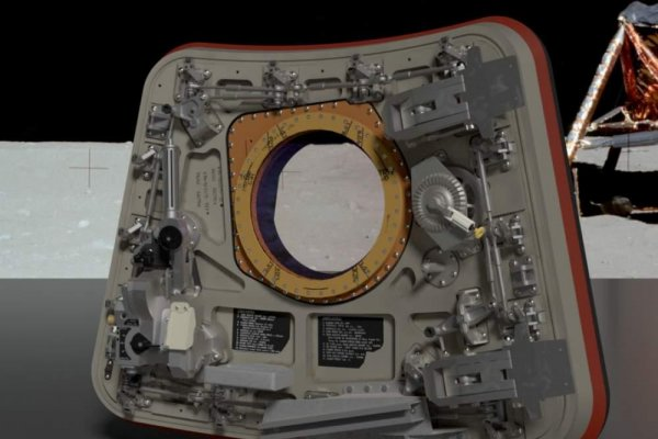 Microsoft designers create replica of Apollo 11 hatch