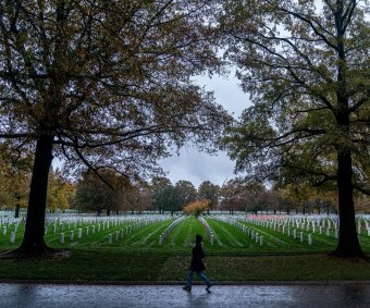 U.S. honors military service on Veterans Day