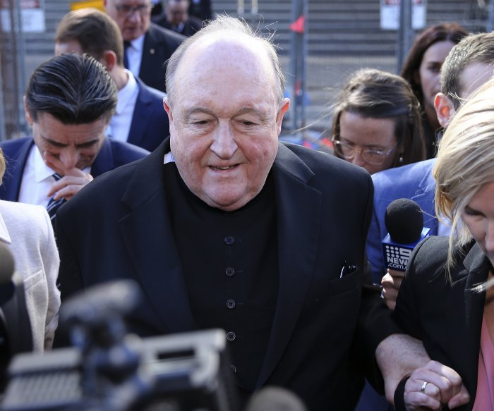 Convicted Catholic bishop to 'stand aside,' but not resign