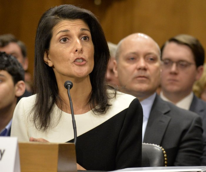 Nikki Haley breaks with Trump on Russia: 'I don't think we can trust them'