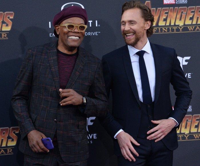 Tom Hiddleston, Robert Downey Jr. attend 'Avengers: Infinity Wars' premiere