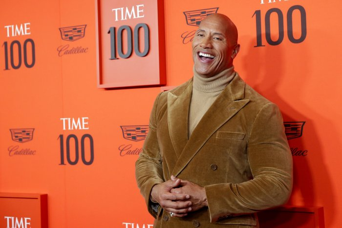"Moments from Dwayne ""The Rock"" Johnson's career"