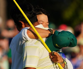 Moments from the 2021 Masters Tournament