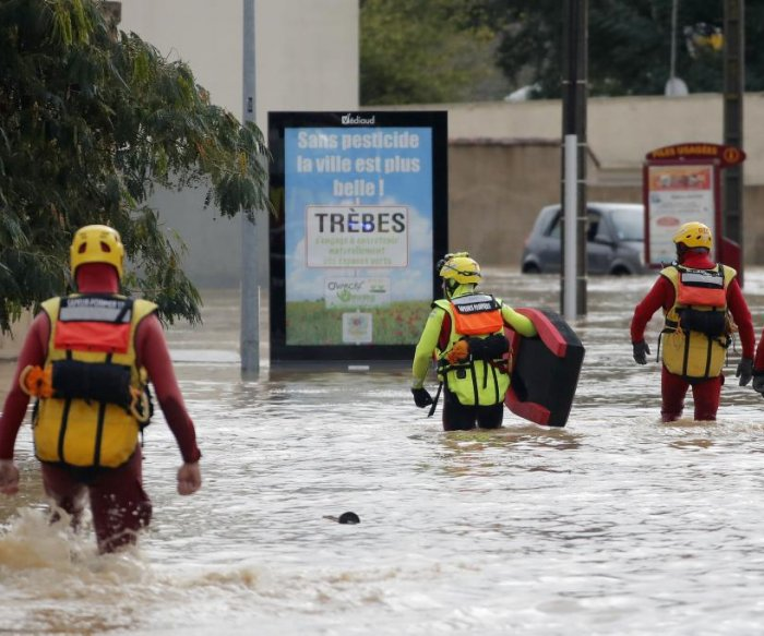 Flash floods kill 13 in southwest France after major rainfall