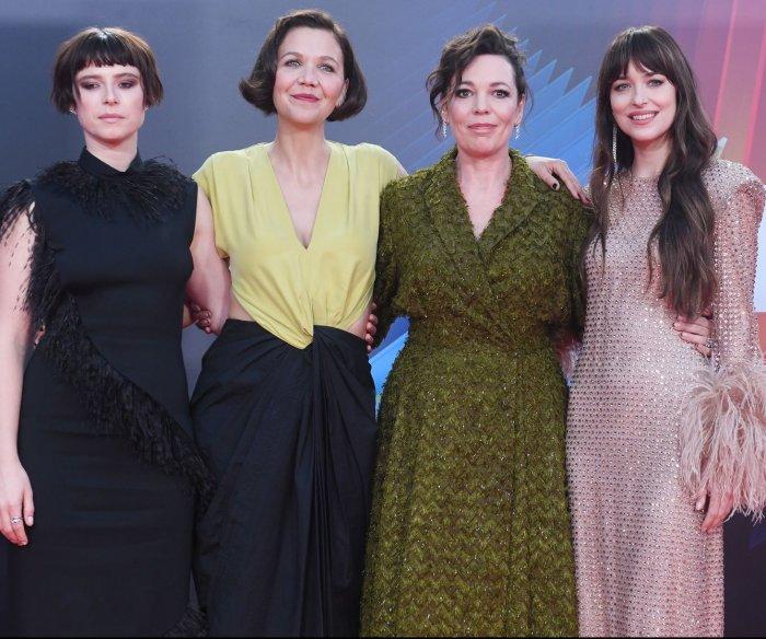 Maggie Gyllenhaal, Olivia Colman attend 'Lost Daughter' screening in London