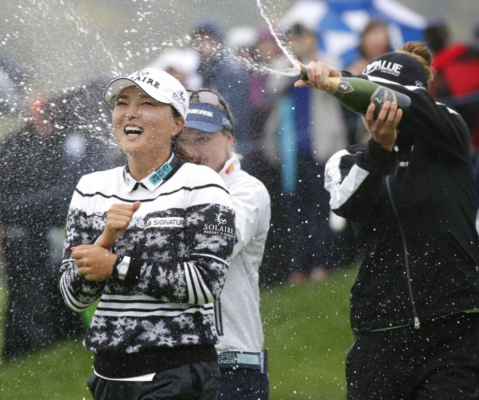Jin Young Ko wins LPGA Cognizant Founders Cup