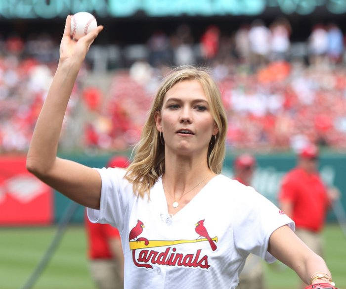 Celebs throwing ceremonial first pitches