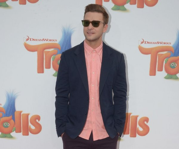 Anna Kendrick and Justin Timberlake premiere 'Trolls' in Los Angeles