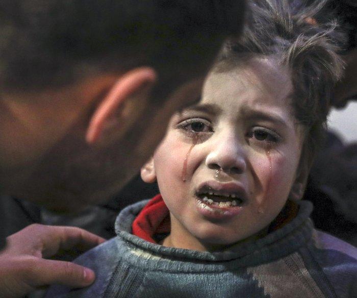 U.N.: Syrian regime, rebels committed war crimes in Eastern Ghouta