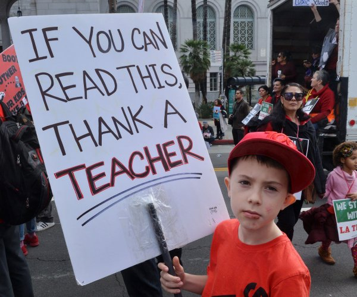 LA teachers strike enters second week amid word of new deal