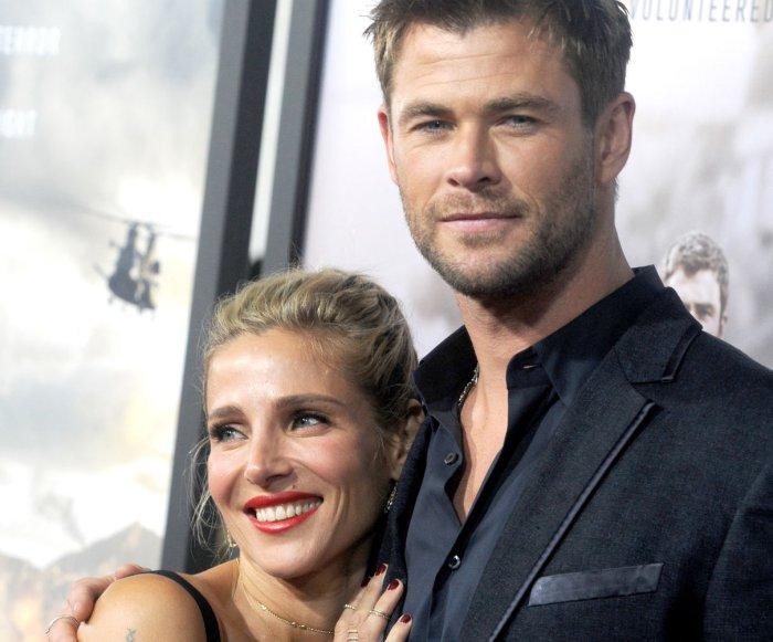 Chris Hemsworth, Matt Damon attend '12 Strong' premiere