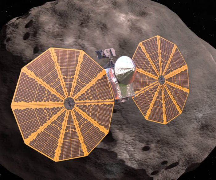 NASA's Lucy science mission will fly by eight asteroids