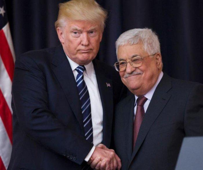 Trump, Abbas call for new start to Israeli-Palestinian peace talks