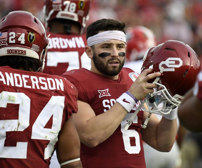 Senior Bowl: Mayfield brings swagger to North practice