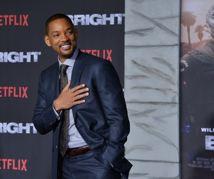 Will and Jaden Smith attend the premiere of 'Bright' in LA