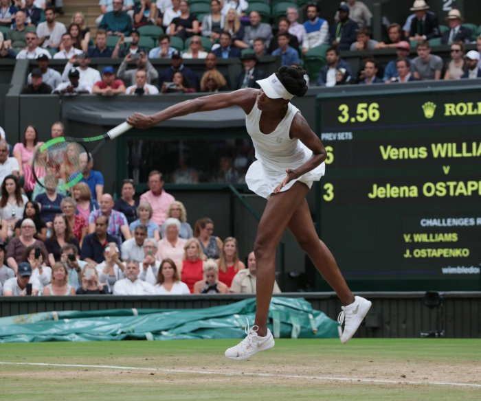 Highlights from the 2017 Wimbledon Championships