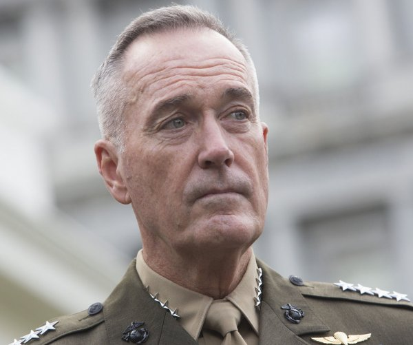 Joint Chiefs' Dunford: Iran complying with nuclear deal